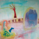 Ancestors - 1999 - Acrylic, Mixed Media on Canvas - 120 X 120 cm